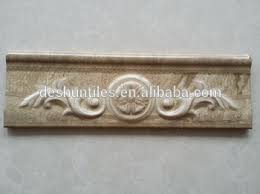 Listellos And Decorative Tile Decorative Skirting Embossing Listello Border Tiles Buy Wall 90