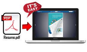 Online Resume Portfolio Maker Converts Pdf To Interactive Page