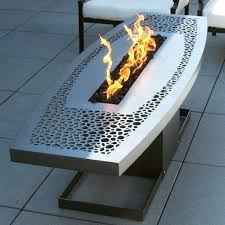 propane fire pit coffee table outdoor coffee table fire pit contemporary patio diy propane fire pit