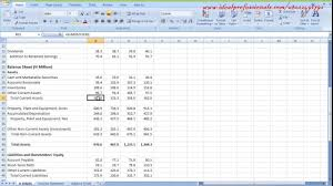 cash flow model excel how to use excel for financial model cashflow youtube