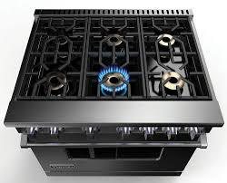 gas stove flame. Gas Range Shown With Viking Professional 7 Series VGR73616BSS - Elevation Burners Brass Flame Ports Boast 23,000 BTUs Stove