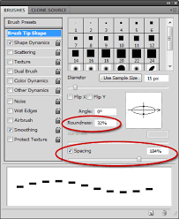 Next step, using marquee tool to select the dot and make it as pattern. Pixel In Gene Making Dashed Lines In Photoshop