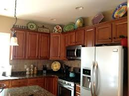 Decorations On Top Of Kitchen Cabinets Interesting Interior Top Of Kitchen Cabinet Decor Kitchen Cabinet Decorating