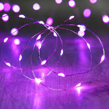 Led Lampjes Snoer Paars Cr2032