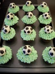 Soccer Ball Icing Decorations Brooke Bakes Soccer Ball Cupcakes 73