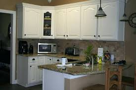 white painted oak kitchen cabinets. Painting Oak Kitchen Cabinets White Best Old Wood Painted T