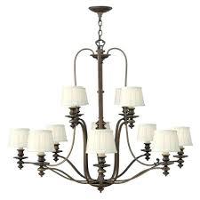 3 tier chandelier lighting royal bronze light axis