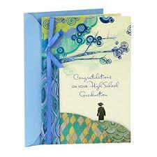 Amazon Com Hallmark High School Graduation Greeting Card