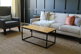 Diy Coffee Table Copy Cat Whitewashed Coffee Table Chris Loves Julia