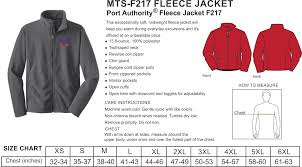 Port Authority Fleece Jacket Size Chart Port Authority Value Fleece Jacket Fpa