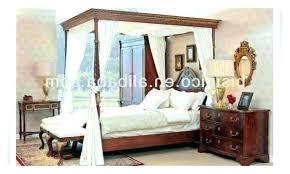wooden canopy bed – noelhertz.com