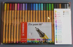 Stabilo Point 88 Pens Billies Craft Room