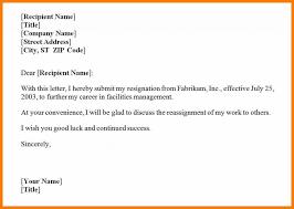 Best Resignation Letter
