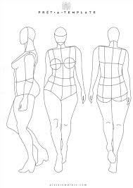 Body Template For Designing Clothes Body Outline For Drawing Clothes Goldenagefigurines Com