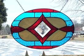stained glass panel for window image 0 wood frame stained glass window panel