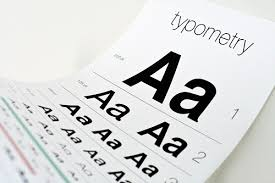 An Eye Chart For Typography Lovers Designtaxi Com