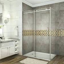 sublime 48 inch frameless shower doors x glass