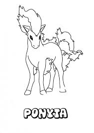 Small Picture Ponyta Legendary Pokemon Coloring Page Free Amp Printable Coloring