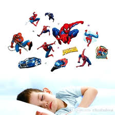 spiderman wall decals wall decals for kids rooms stickers home decor personalized kids nursery wall sticker for boys room stickers wallpaper stickers walls