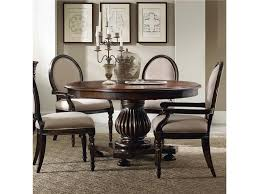 60 inch round pedestal dining table brown