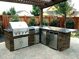 wood outdoor kitchen outdoor kitchen island small s plans build wood metal studs outdoor kitchen island