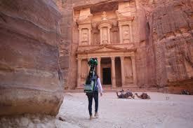 Jordan 23 google office Ideas An Error Occurred Techcrunch Google Brings Street View To The Ancient City Of Petra Techcrunch