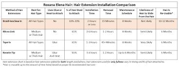 Hair Extensions Roxana Elena Hair Reh 305 563 1237
