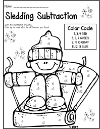 Math Color Sheets Free Math Coloring Sheets For Grade Best Math ...