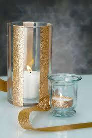 diy Wedding Crafts: Glitter Ribbon Glass Candle Holder  DIY Weddings  Magazine