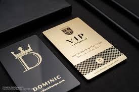Vip Card Design Sample Luxury Vip Member Gold Metal Card Dominic