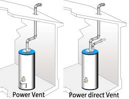 hot water heater vent.  Hot Burner Assembly Power Vent Water Heater With Hot Water Heater Vent