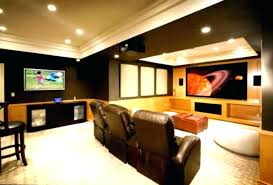 Basement Wet Bar Corner Home Design Plan Decorating Basement Small