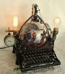 steampunk lighting. A Steampunk Typewriter Fixture Lighting R
