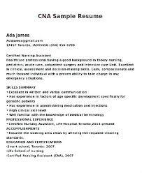 Free Cna Resume Free Resume Sample Download Beauteous Free Cna Resume Builder