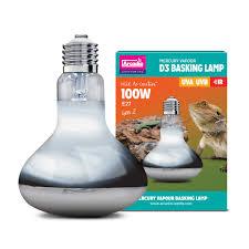 Uvb And Basking Light The Tortoise Den Arcadia D3 Uv Basking Lamp 100w