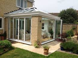 glass bi folding doors for glass house