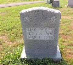Mae Reece (1906-1986) - Find A Grave Memorial