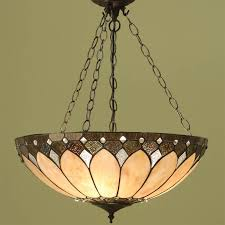 interiors 1900 tiffany cable set pendant fitting only bronze paint effect su3c