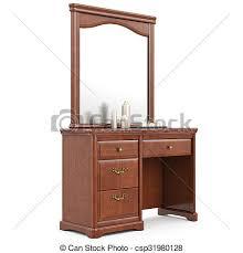 dresser with mirror clipart. Exellent Mirror Modern Dresser With Mirror  Csp31980128 And Dresser With Mirror Clipart C