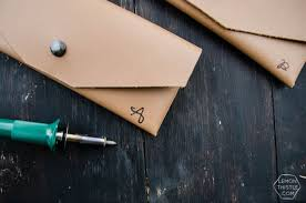 diy leather pouch cut with a cricut tips for working with leather and cricut