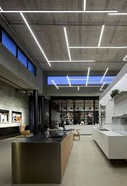 commercial bar lighting. Interesting Lighting Commercial Restaurant Interior  Bar Lighting Concrete Ceiling And  Clerestory Windows To Bar Lighting E