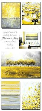 yellow and grey wall decor yellow grey art abstract paintings sophisticated stunning warm cheery canvas wall