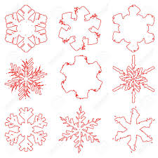 Snowflake Border Template Cakne Kaptanband Co
