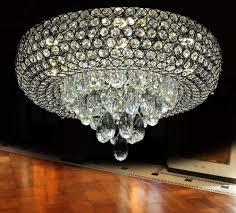 Led Lüster Kronleuchter Deckenlampe Kristallglas Warm Kalt