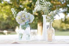Glass Jar Table Decorations Mason Jars Something Borrowed Portland 17