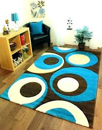 blue brown rugs and rug area black vibrant interesting bedroom