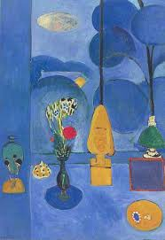 henri matisse still life painting  the blue window 1912 oil on canvas henri matisse