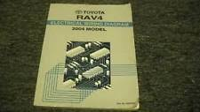 rav service manual 2004 toyota rav4 rav 4 electrical wiring diagram ewd service shop repair manual