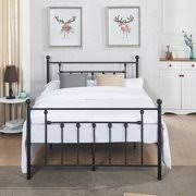 wrought iron headboard full. Simple Iron Antique Bed FramePlatform With Victorian Iron HeadboardFull Size With Wrought Headboard Full D