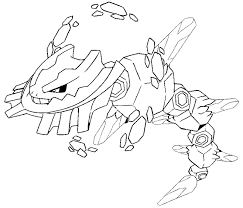 Small Picture Mega Pokemon Coloring Pages Draw Background Mega Pokemon Coloring